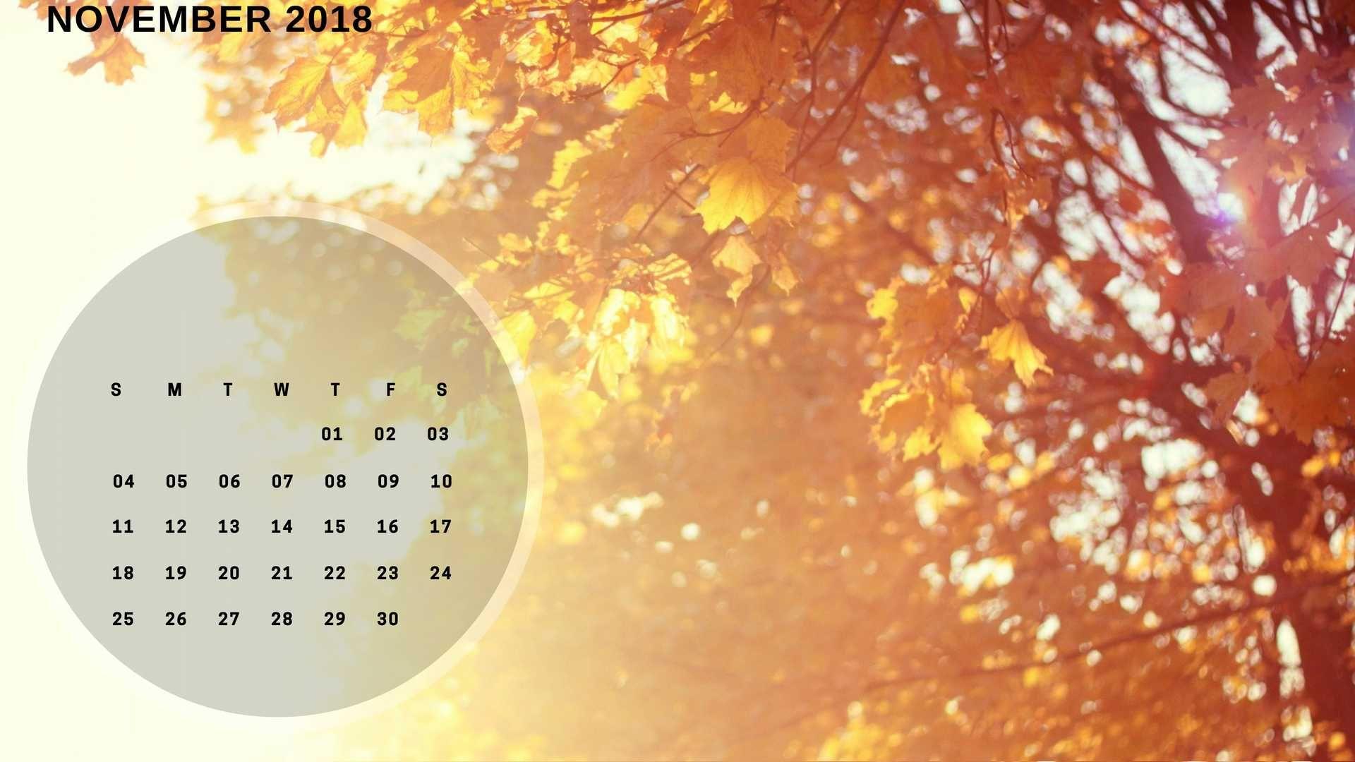 November 2018 Calendar Wallpaper For Desktop Calendar Wallpaper Desktop Wallpaper Backgrounds Desktop