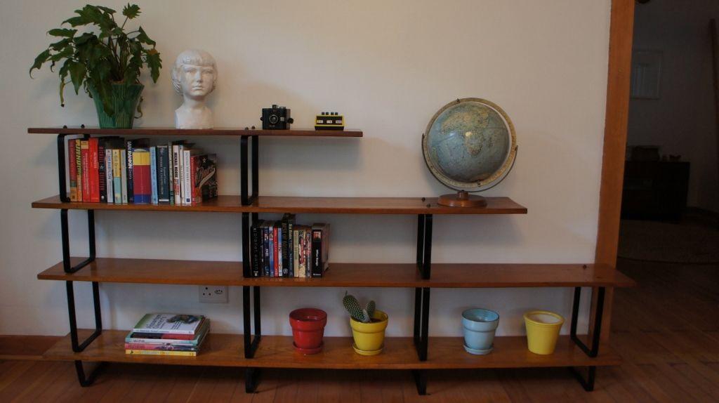 Retro Bookshelf Bookshelves Home Decor