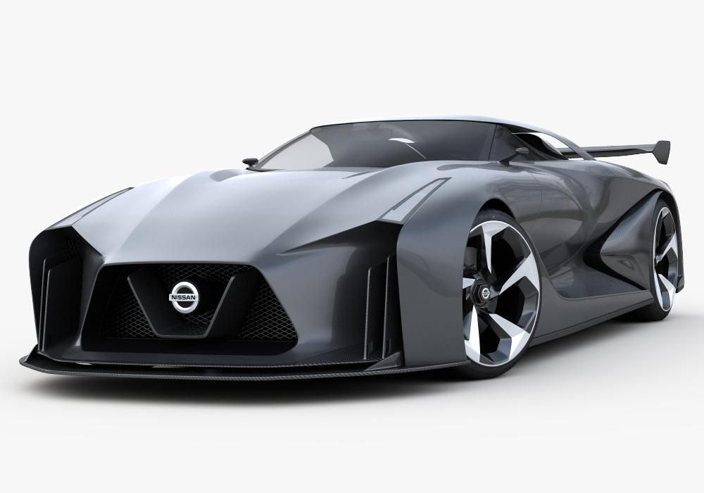 Nissan Concept 2020 Vision Gran Turismo 3d Model Ad Concept Nissan Vision Model Nissan Super Cars Concept Cars