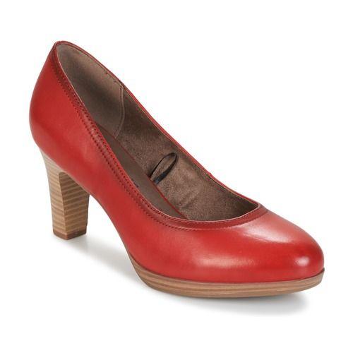 New Tamaris Freital Black Heels for Women Sale