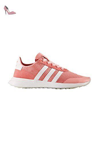 Flb W - Chaussures De Sport Pour Femmes / Adidas Rose Jksugty