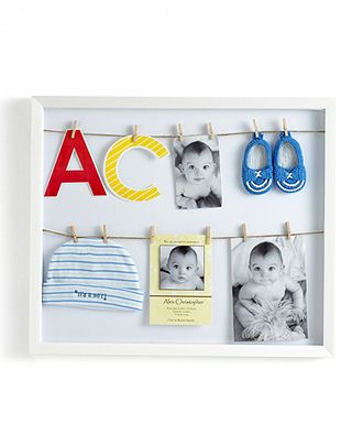 Umbra Picture Frames Clothesline Shadowbox Picture