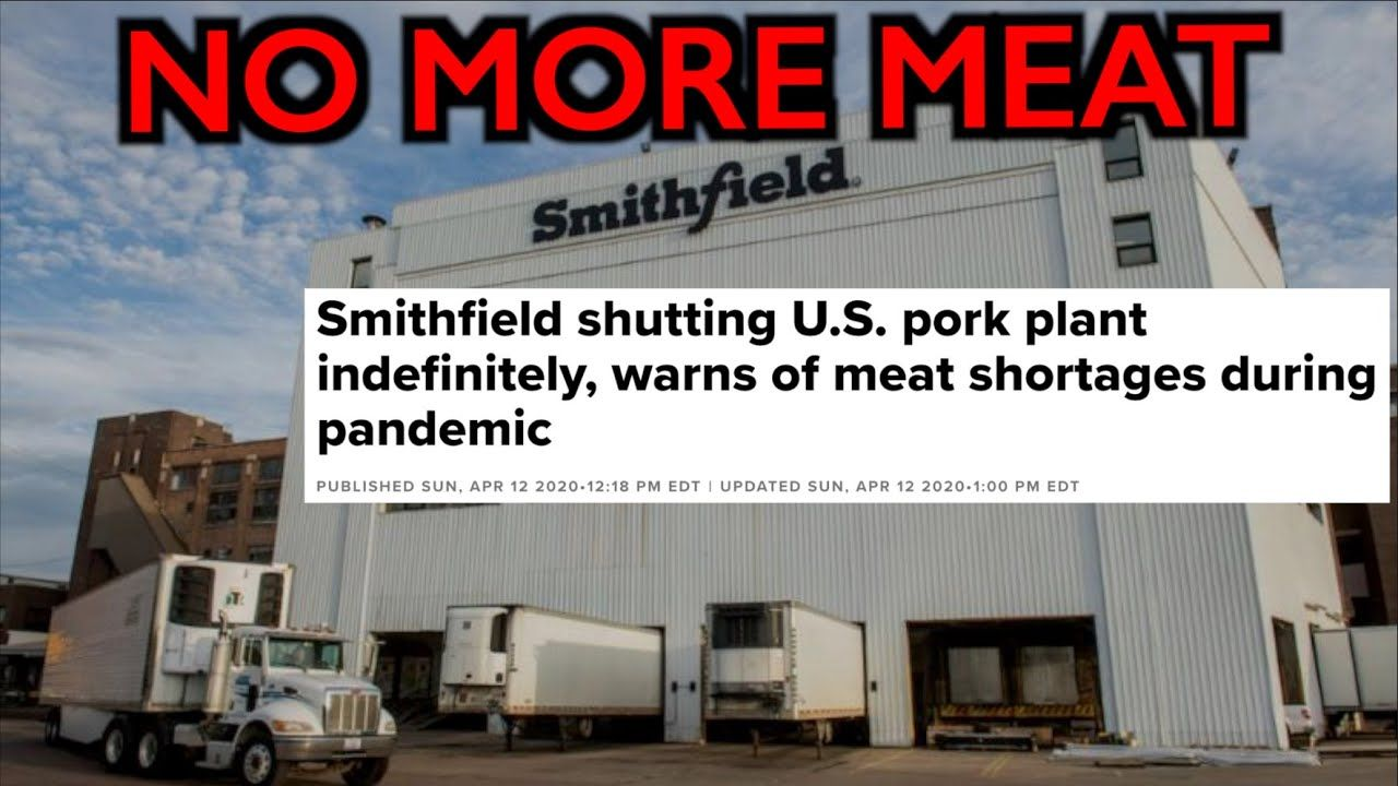 No more meat plants close indefinitely smithfield warns