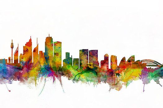 Michael Tompsett - Sydney Australia Skyline
