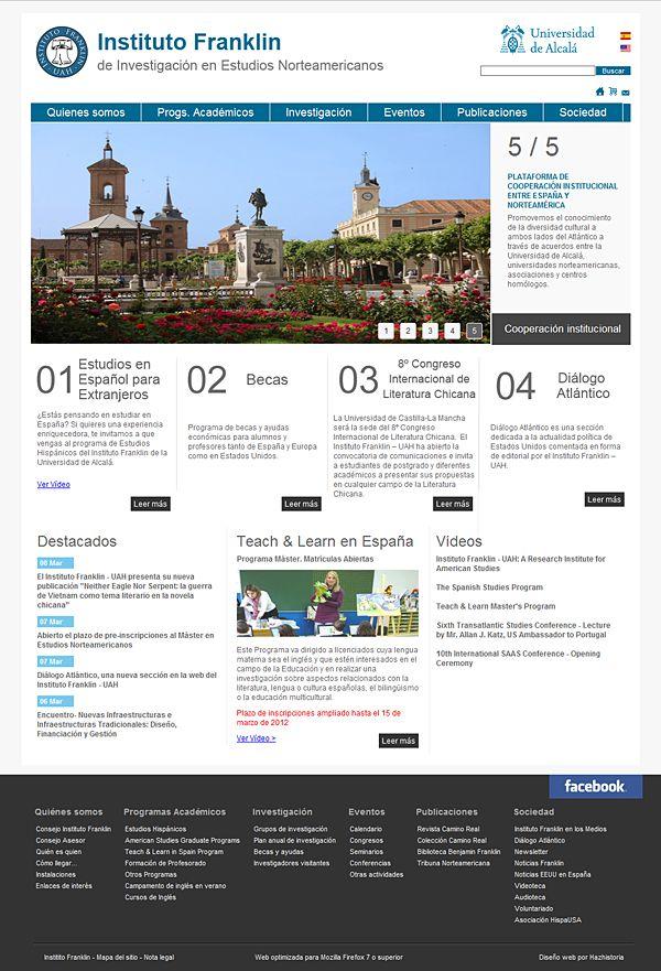 #web Instituto Franklin #disnoweb #webdesing #ubecart