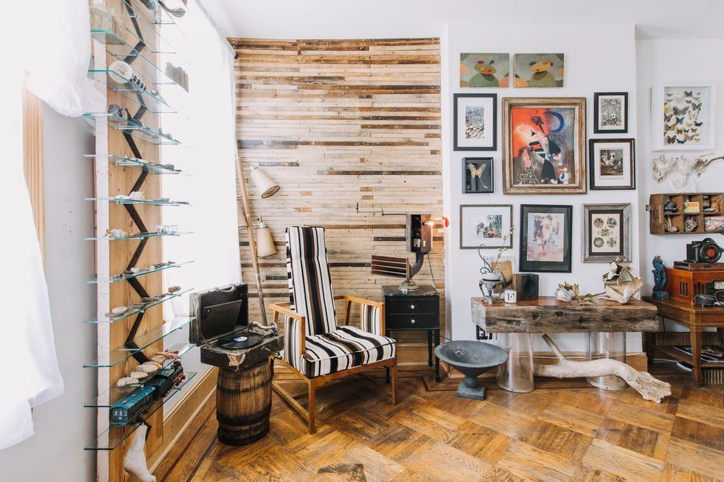 This Philadelphia Home Has Incredible Hand Built Details Home Eclectic Home Bohemian Decor Diy