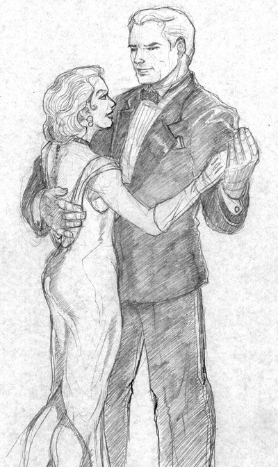 gallery for how to draw two people dancing to draw pinterest