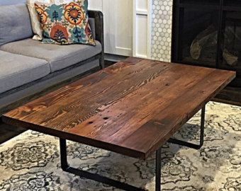 Great Reclaimed Wood Coffee Table By StumptownReclaimed On Etsy