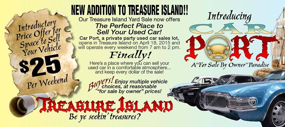 Check out our new Car Port at Treasure Island at the OC