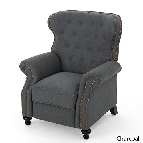 Waldo Tufted Wingback Recliner Chair(Charcoal) Great Deal...  Https://www.amazon.com/dp/B071948V6Z/refu003dcm_sw_r_pi_dp_x_2CAkzb7Q218KN