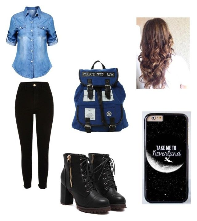 """Sem título #78"" by moonjunghee on Polyvore featuring moda e River Island"
