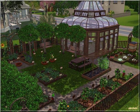 Small Garden - community lot by Moni at Arda - Social Sims ...