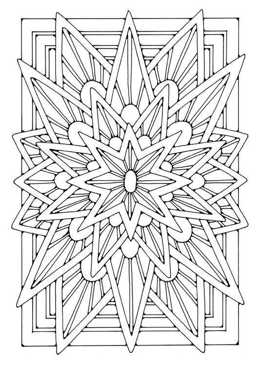 Coloriage Zen Ecole.Mandala Star Coloring Pinterest Coloriage Coloriage Zen Et