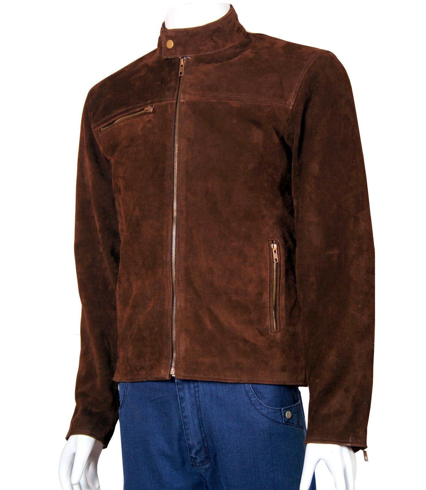 Tom Cruise Suede Leather Jacket
