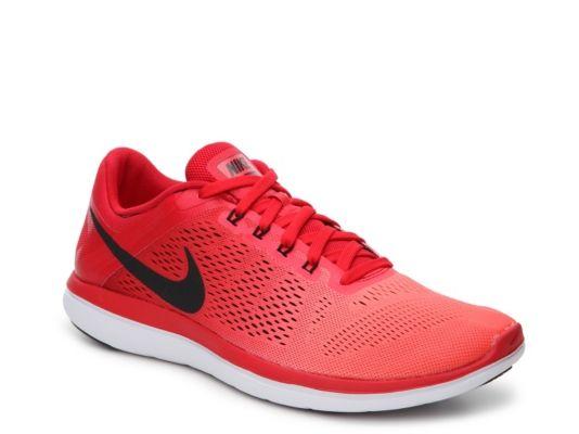 Nike Red Flex 2016 Rn Running Shoes for men
