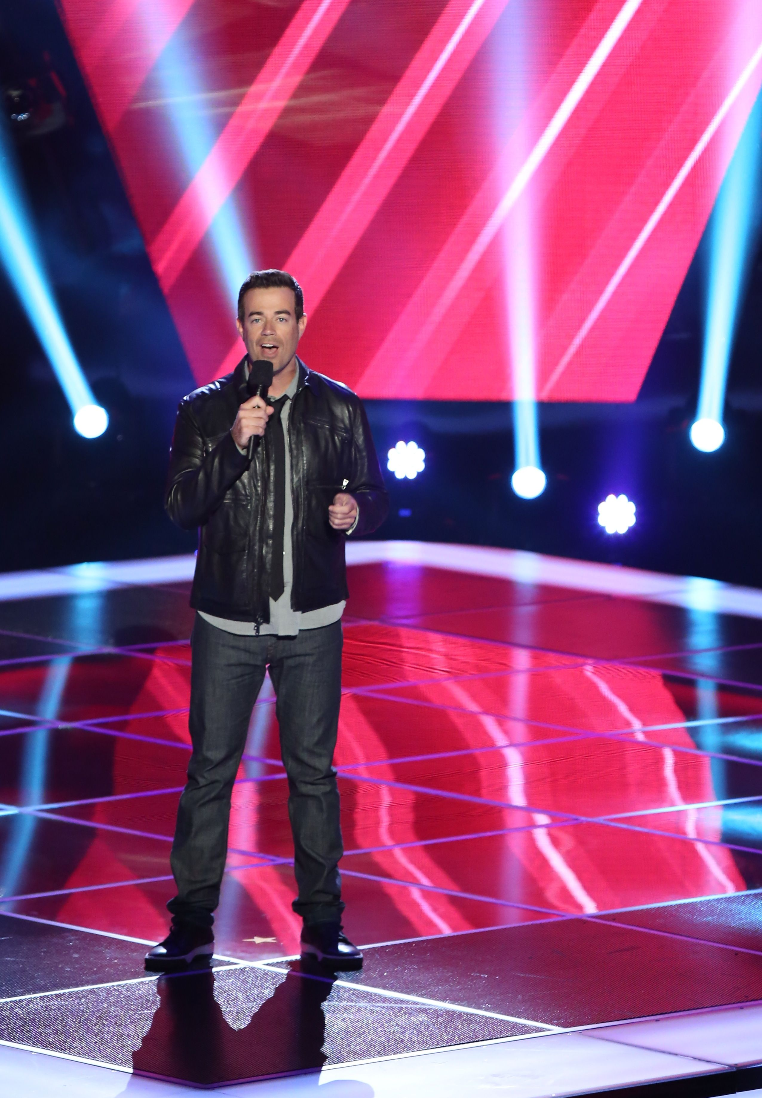 Carson Daly Thevoice With Images Carson Daly Reality Tv