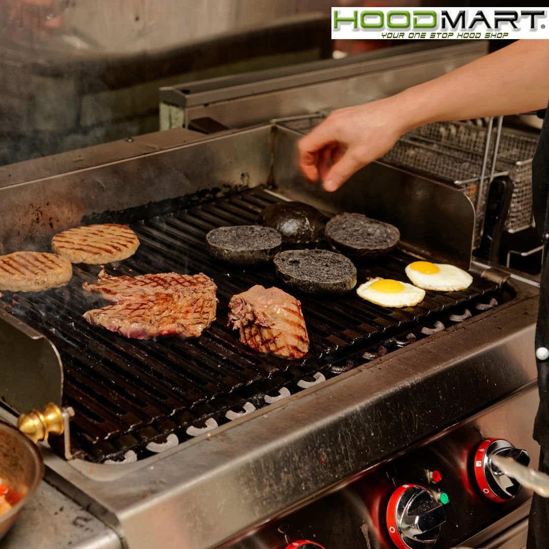 Hoodmart Manufactures Hoods To Work In All Commercial Kitchen Applications Including Makeup Air Ho Food Service Industry Kitchen Applicances Commercial Kitchen