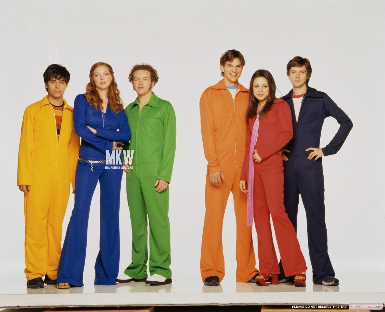 That '70s Show Cast - B. Reitzel Photoshoot for TV Guide 2001