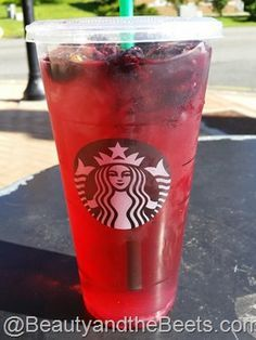 Very Berry Hibiscus Refresher A La Starbucks Recipe Geometry