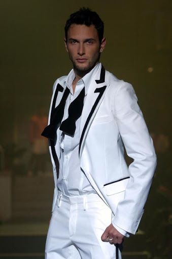 Talk about a white suit