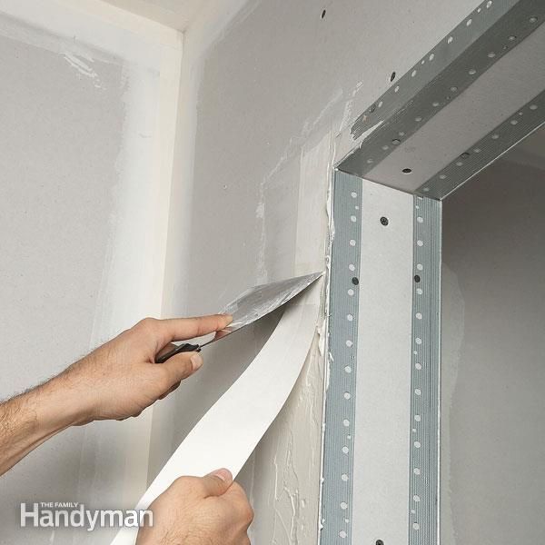 Drywall Taping Tips Home Fix Home Projects Diy Home Improvement