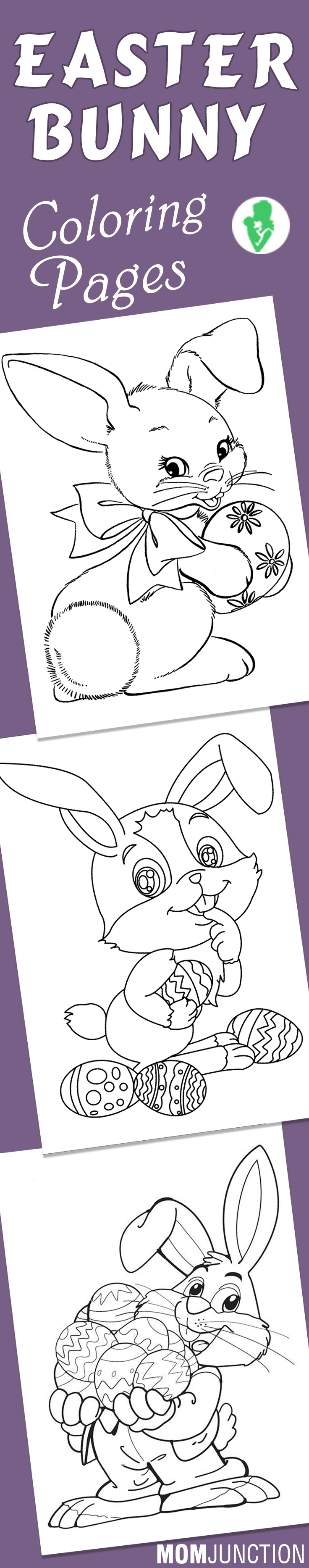 Top 15 Free Printable Easter Bunny Coloring Pages Online | Aula y ...