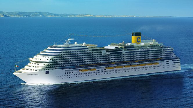 Costa Diadema: the largest Italian cruise ship