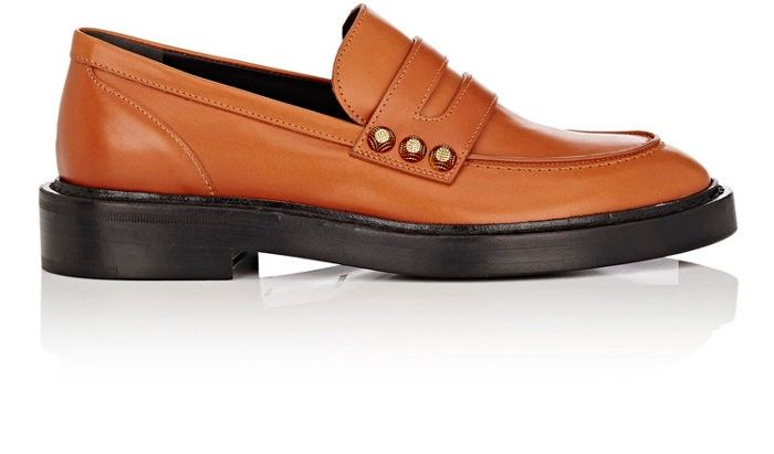 ded656ca07c2 BALENCIAGA Studded Leather Penny Loafers.  balenciaga  shoes  all ...