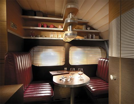 Tb xl caravan interior love the diner vibe yet another funky