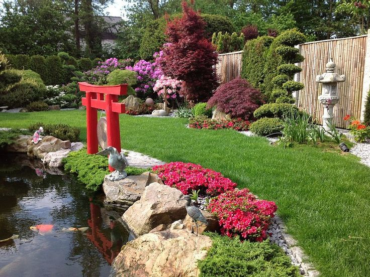 Living With Ambiance On 70 M2 Dortmund Our Thriving Japanese Garden