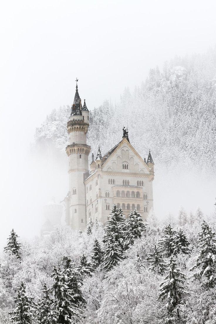 Pin Von Louisa Auf Photography In 2019 Winter Szenen Winter Und Schloss Neuschwanstein
