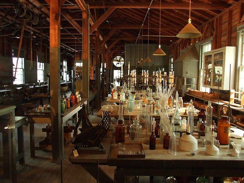Thomas Edison's Florida laboratory at Edison & Ford Winter Estates in Fort Myers, FL
