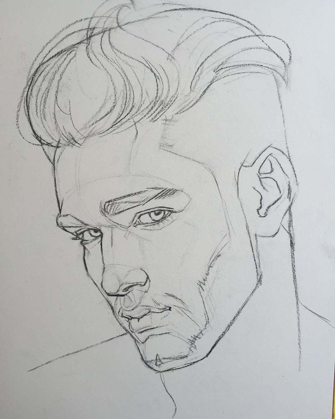 Wie zeichnet man einen Kopf oder ein Gesicht im Profil