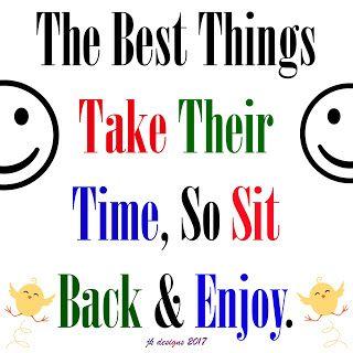 Mijn T-shirt-prints: Sit Back & Enjoy