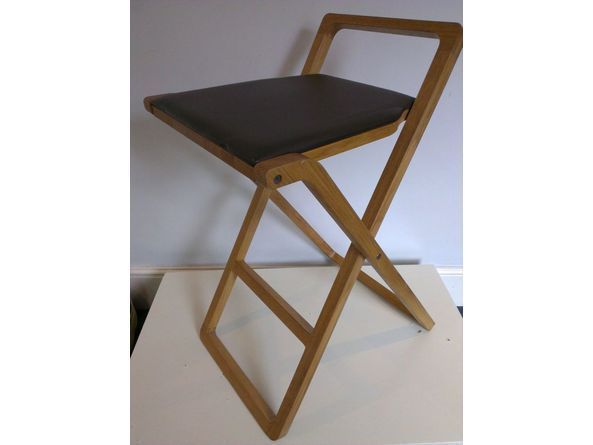 Prime Habitat Gilberto Gil Guitar Stool Leather Oak On Gumtree Squirreltailoven Fun Painted Chair Ideas Images Squirreltailovenorg