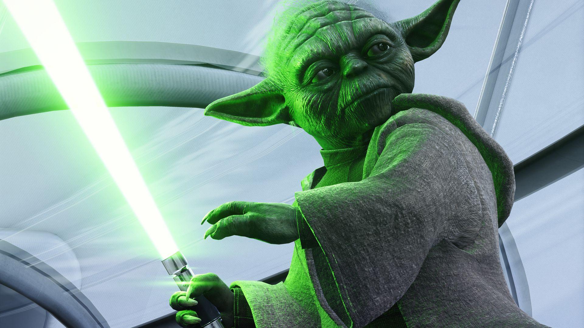 Master Yoda Wallpaper Yoda Wallpaper Star Wars Battlefront Star Wars Wallpaper