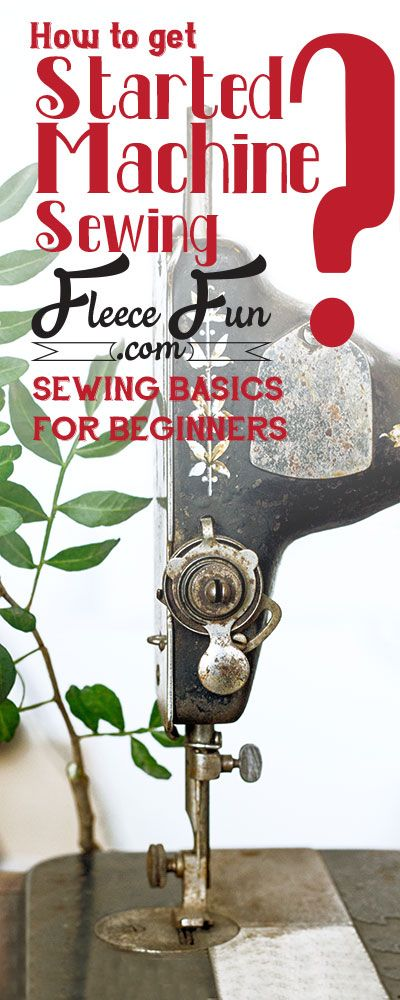 Learning how to sew with a sewing machine especially if you're a beginner can seem a little daunting.  The truth is that the basic mechanics of every sewing machine (no matter the make, model or year) are the same.  Once you're familiar with a few basics you'll be able to sit down to any machine and sew!