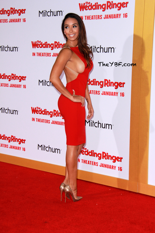 Kevin Hart Eniko Parrish Draya More Attend The Wedding Ringer