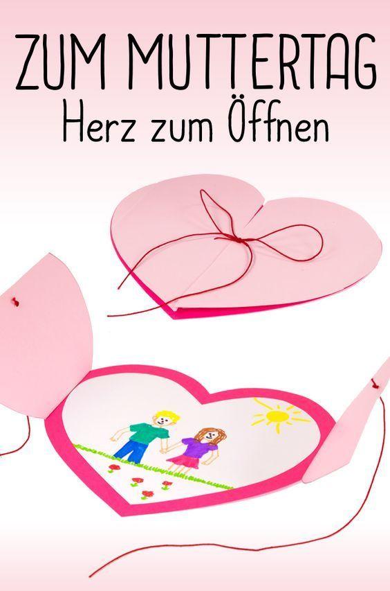 Photo of Herzen von Herzen: Bastelt etwas für den Muttertag oder den Vatertag! Zum Beisp…