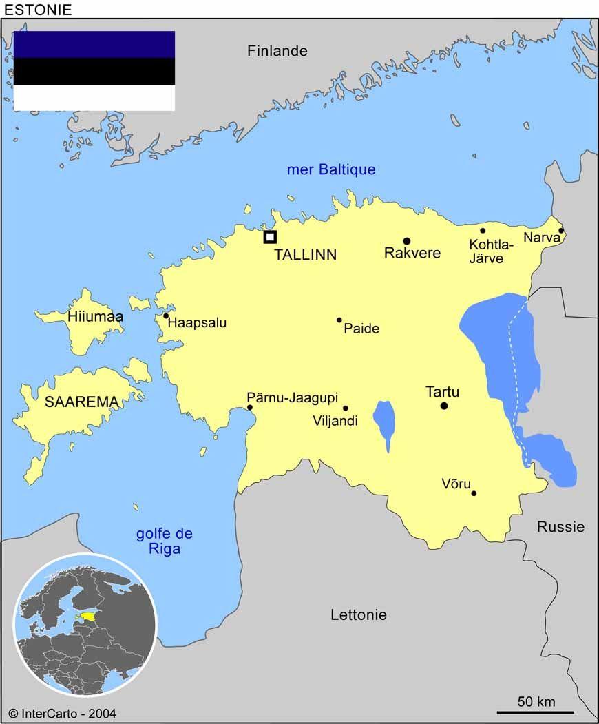 Carte Estonie | Toutes les cartes | Pinterest