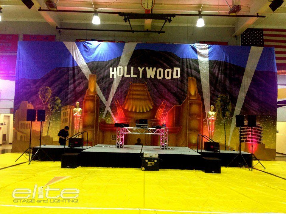 Hollywood Theme for School High School Dance High School Dance