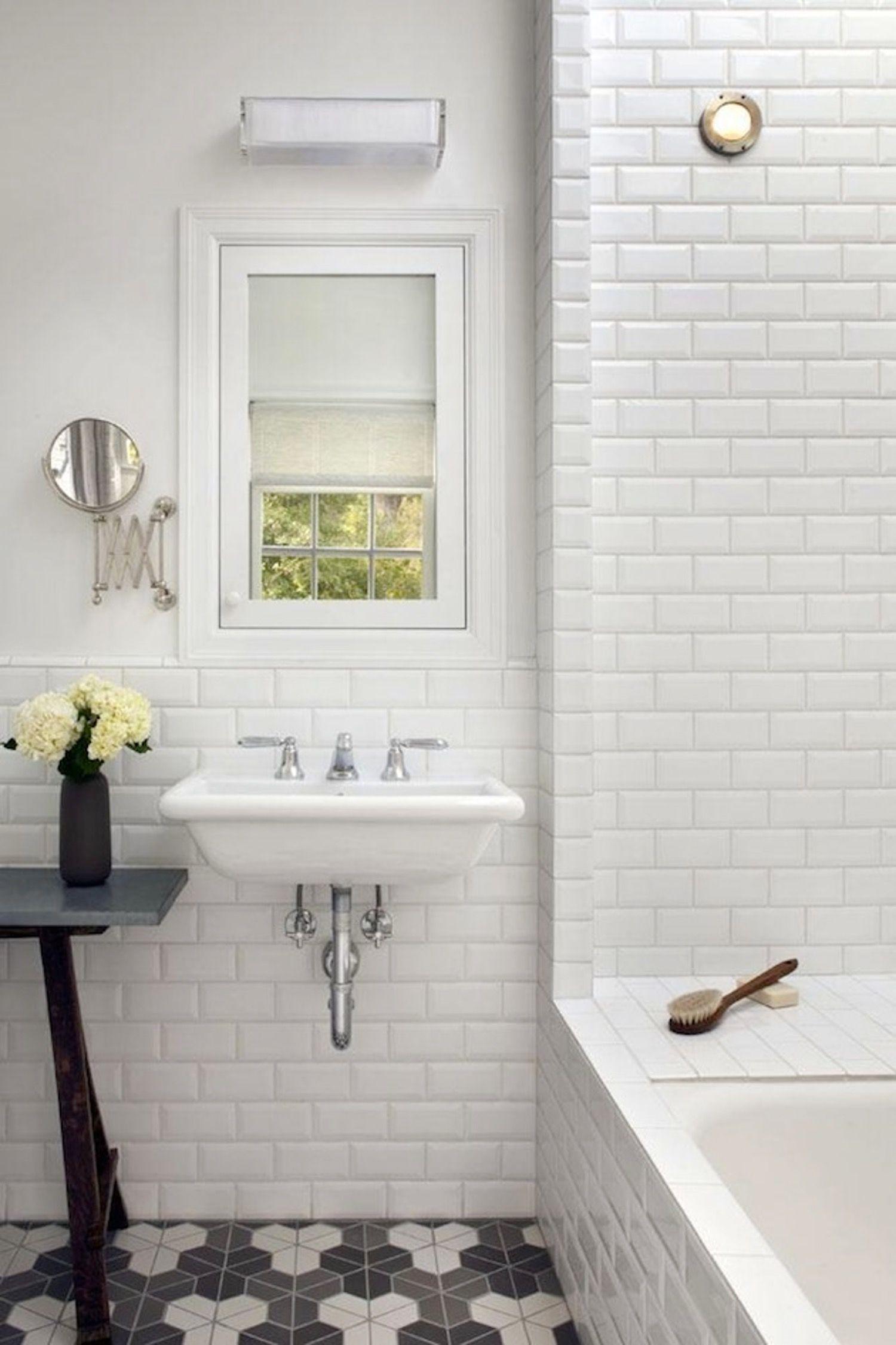 Look We Love Beveled Subway Tile White Beveled Subway Tile