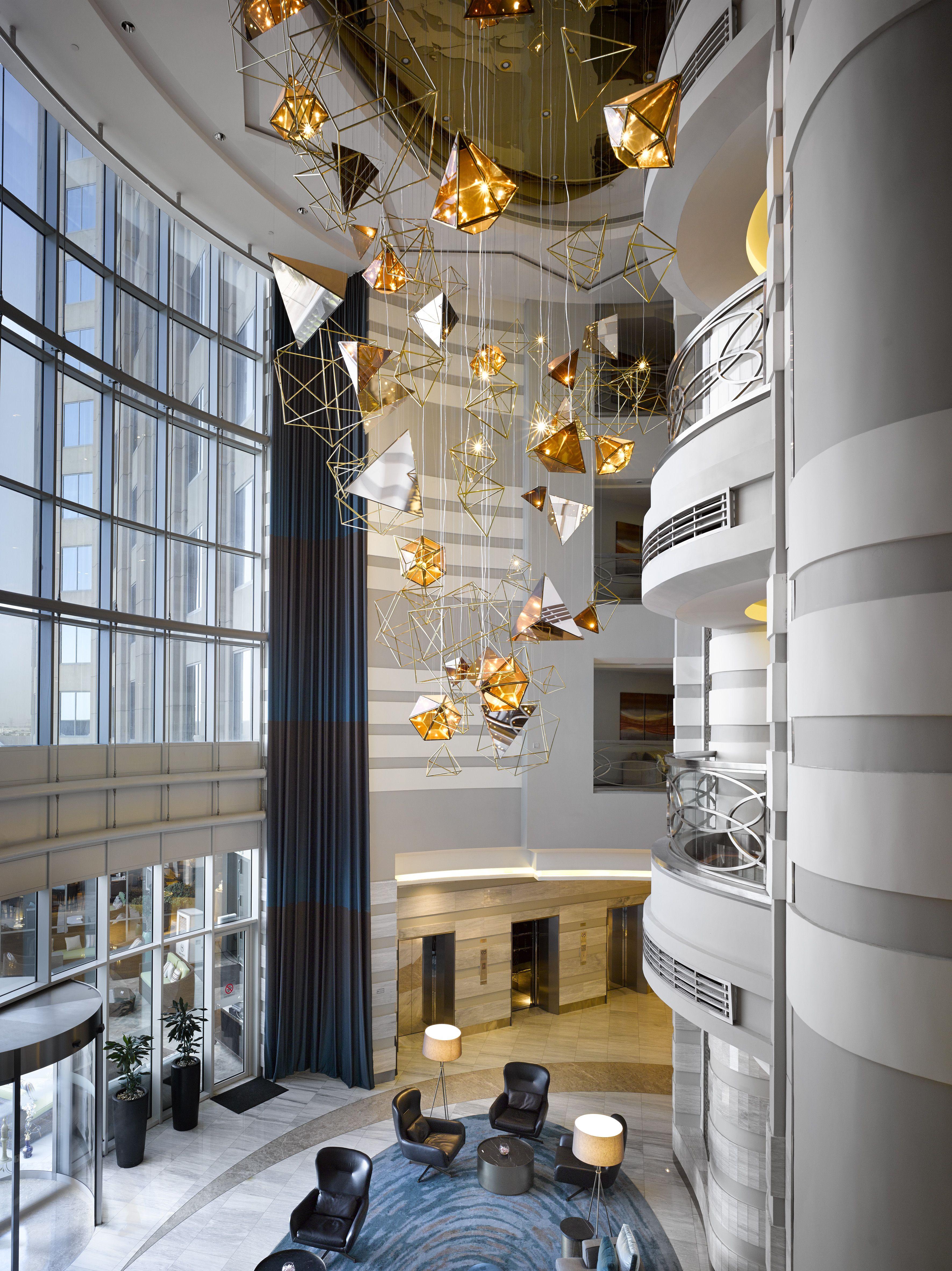 dubai designs lighting lamps luxury antonovich the biggest lighting installation in the sheraton dubai mall of emiratesu2026