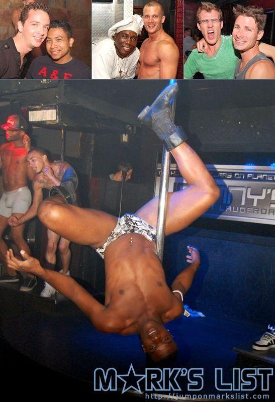 Hot gay stripper