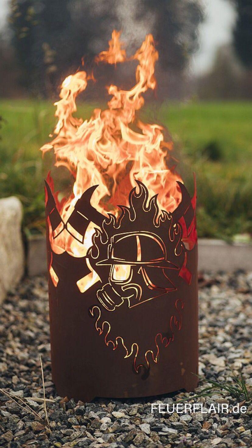 Photo of Feuerkorb Feuerwehr Atemschutz