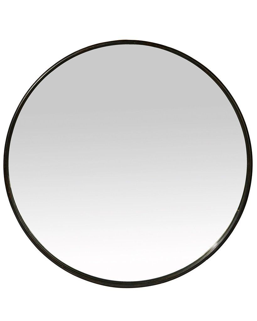 Please Log In Black Round Mirror Round Wall Mirror Framed Mirror Wall