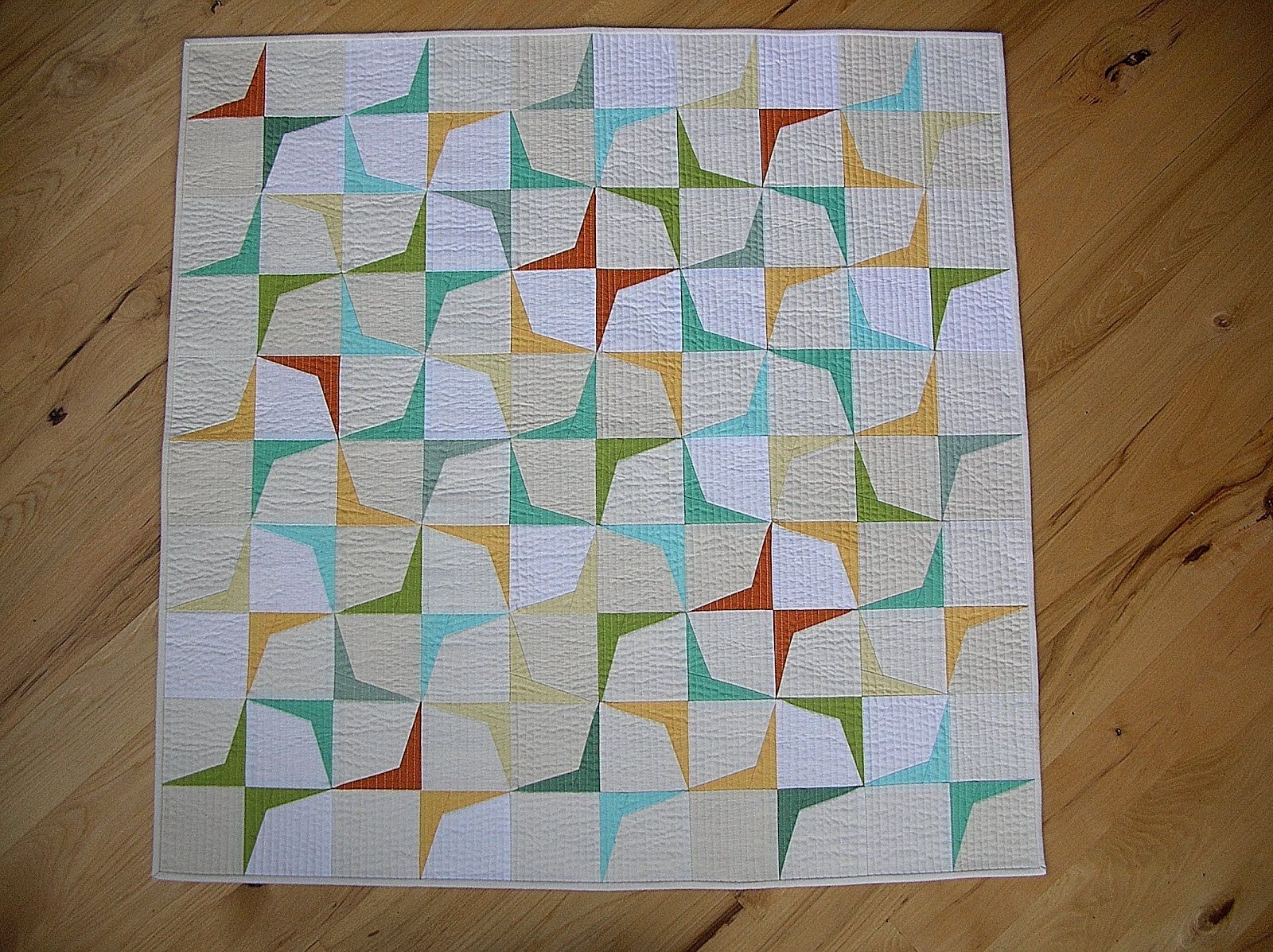 This Quilt Was Inspired By The Mid Century Modern