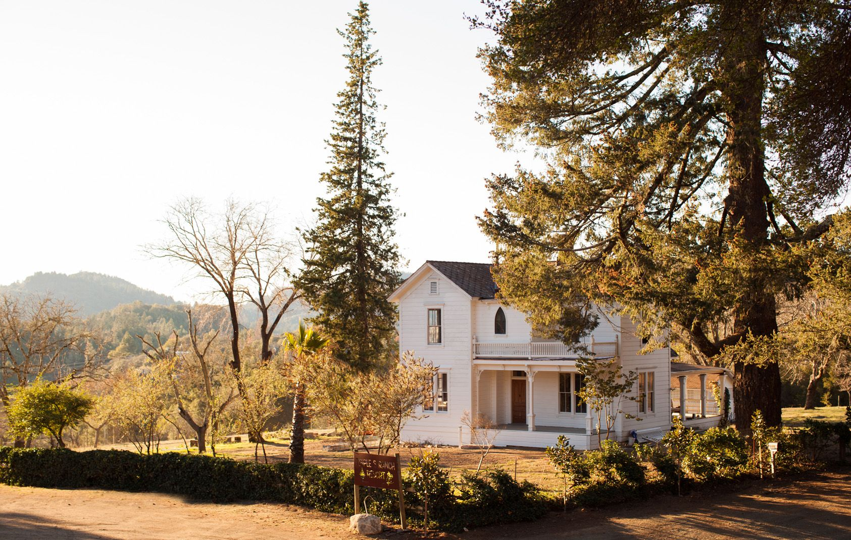 Historic Calistoga Boutique Ranch Resort Vacation Rental In From