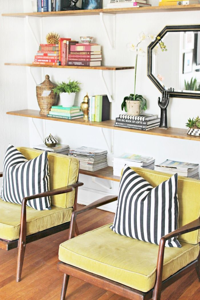 Shannon Claire: Love this colorful take on modern decor #EvaHomeJCP #jcpHome #sponsored