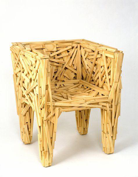 La chaise favela lacoste pinterest chaises mobilier - Chaise art contemporain ...